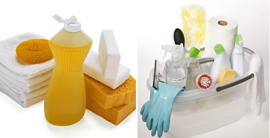 Cleaning Supplies For Kitchen - Kitchen Design Ideas