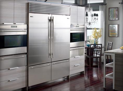 are sub zero refrigerators worth the high cost kitchen. Black Bedroom Furniture Sets. Home Design Ideas