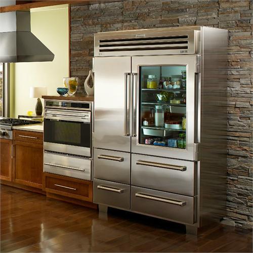 Marvelous Glass Door. However, Sub Zero Refrigerators ...