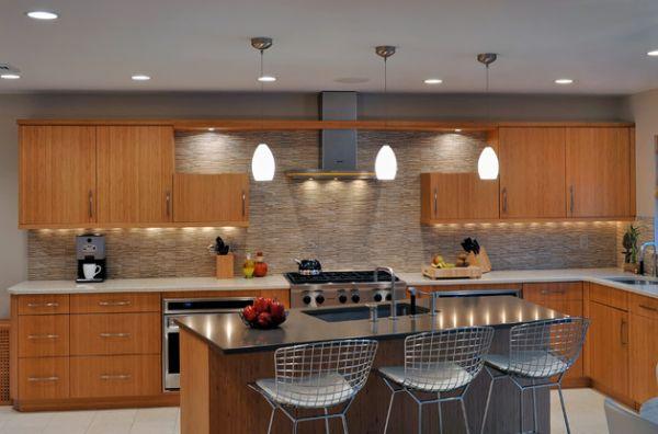 Funky ideas to create amazing kitchen lighting kitchen Breakfast bar lighting ideas