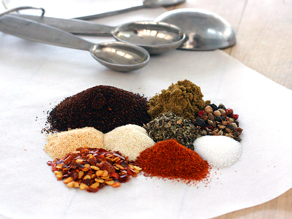 make new things by adding spices