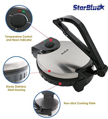 StarBlue roti maker features