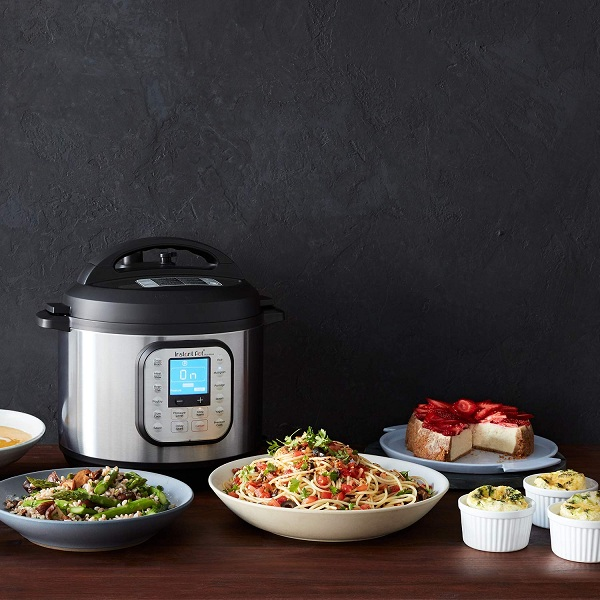 various dishes with Instant Pot