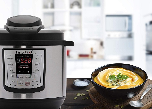 cheesy or creamy dishes with Instant Pot