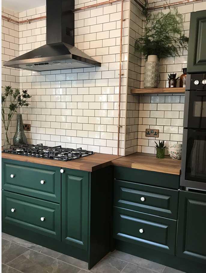 Respray Kitchen Cabinets