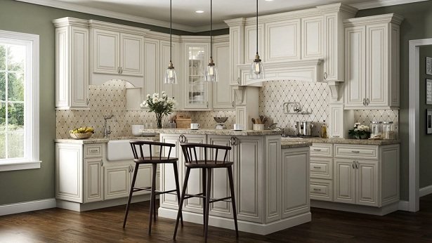 work with only one kitchen cabinet every day
